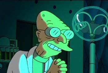 Alla ricerca del teorema nascosto….in Futurama!