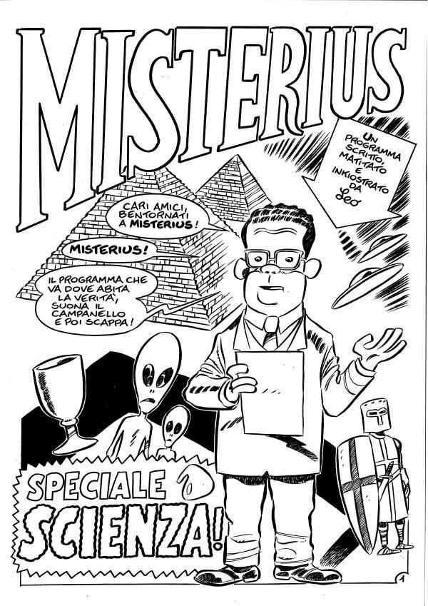 Misterius alle Olimpiadi (di Matematica)