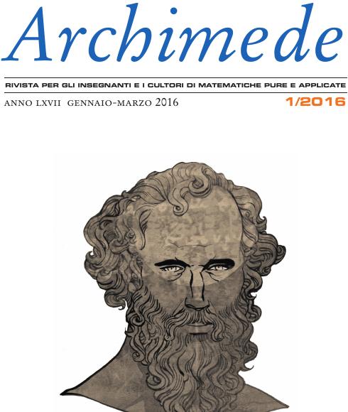 Acquistate la rivista Archimede (anche in versione digitale)
