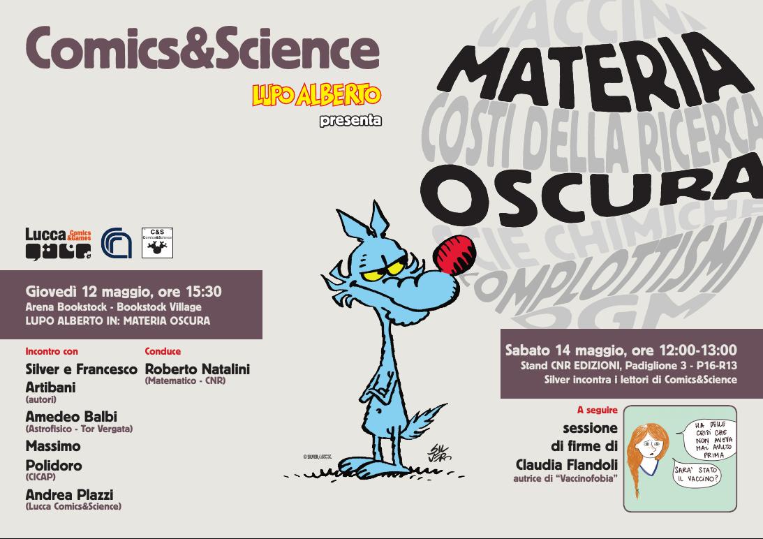 Comics&Science al Salone del Libro di Torino (appuntamenti il 12 e il 14 maggio)