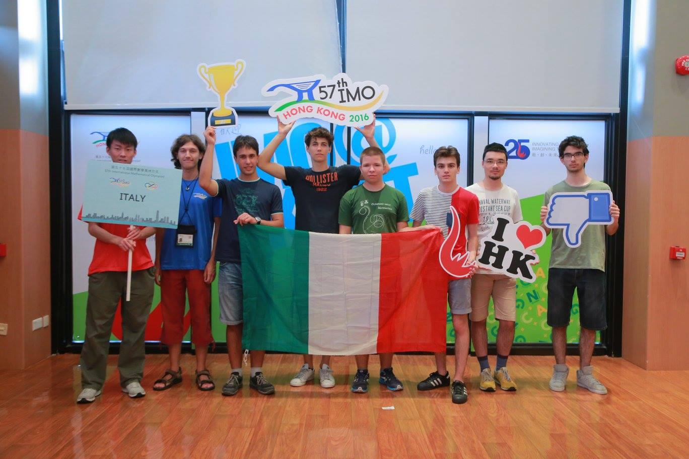 IMO 2016: Diario Olimpico — Parte prima