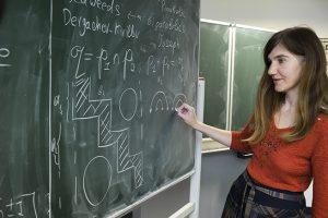 Deutschland, Jena, Oktober 2015, M11_die ukrainische-russische Mathematikerin Oksana Yakimova, die in Jena lehrt