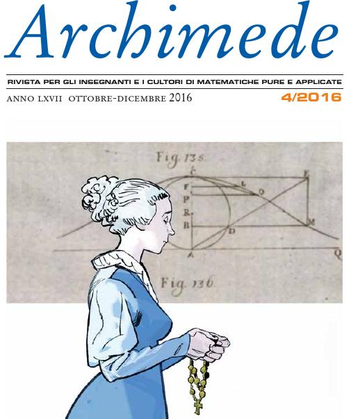 Anteprima del n. 4/2016 di Archimede