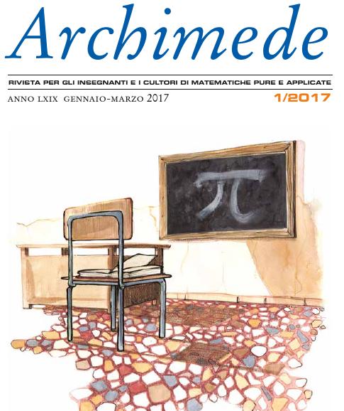È uscito il numero 1/2017 di Archimede