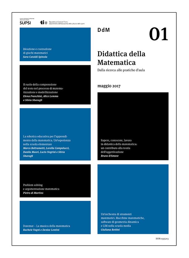 """Nasce la nuova rivista """"Didattica della matematica"""""""