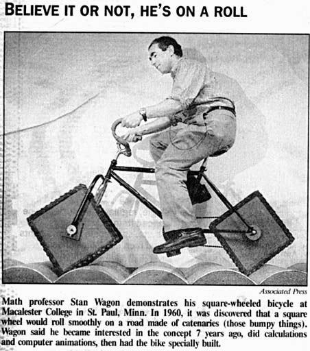 La bicicletta con le ruote quadrate: forse non tutti sanno che…