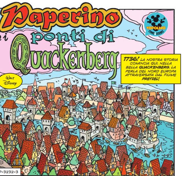 Matematica a fumetti: Paperino e i ponti di Quackenberg
