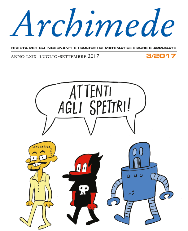 È uscito il numero 3/2017 di Archimede