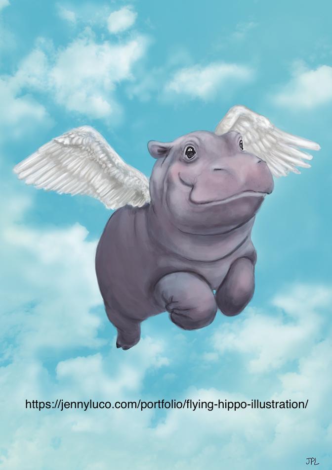 Lo scontro fra area e volume e sul perché gli ippopotami non possono volare