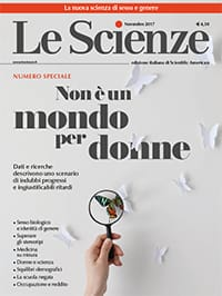 Non è un mondo per donne (Le Scienze di Novembre)