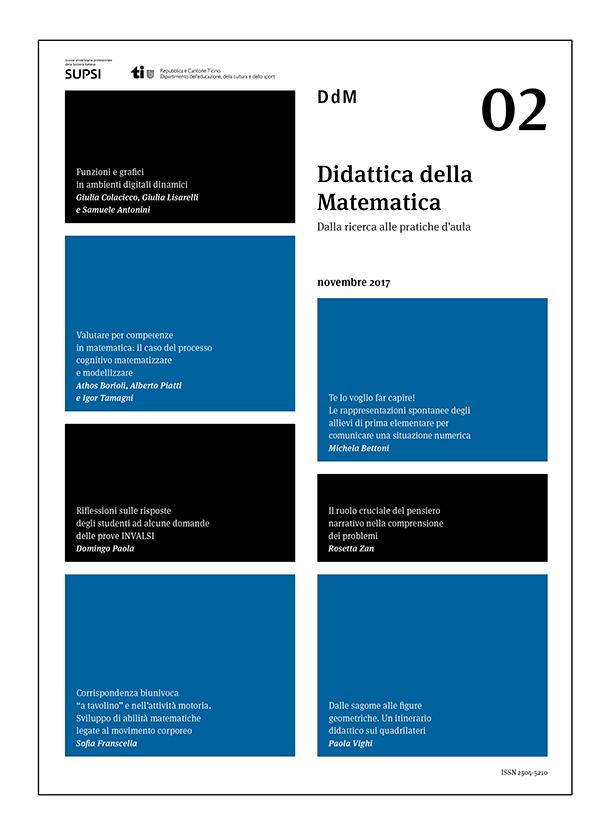 È online il secondo numero della rivista Didattica della matematica