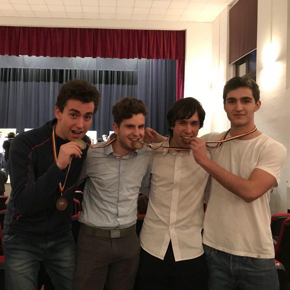 Quattro medaglie dai Romanian Master of Mathematics