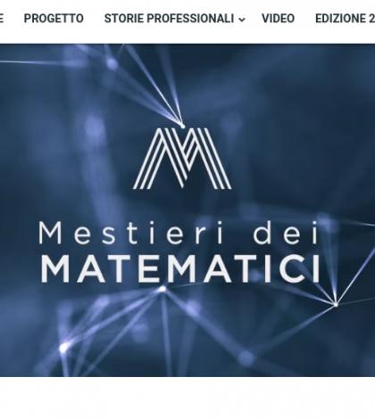 È online la nuova versione del sito Mestieri dei Matematici!