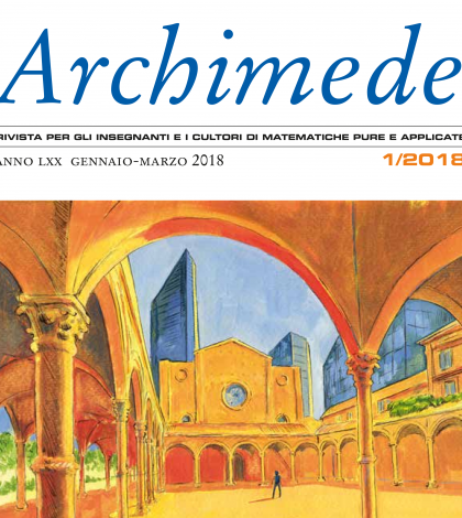 È uscito Archimede 1/2018 con un dossier sull'esame di stato
