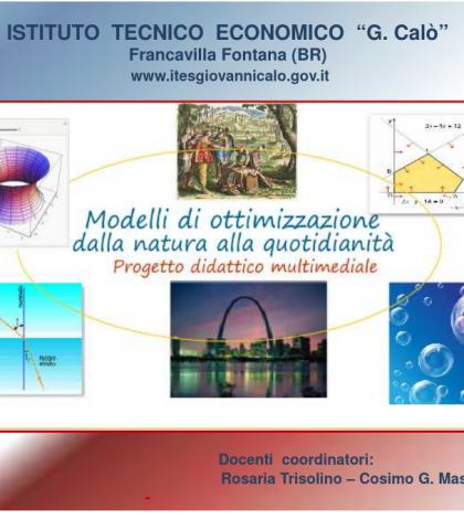 Progetto: Modelli di ottimizzazione dalla natura alla quotidianità