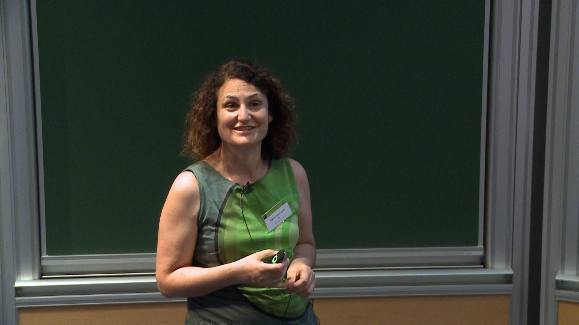 Gigliola Staffilani è l'EMS lecturer 2018, e sarà a Roma Tor Vergata dal 16 al 18 luglio