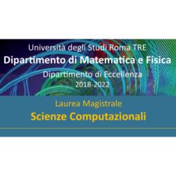 La laurea Magistrale in Scienze Computazionali dell'Università di Roma Tre compie un anno
