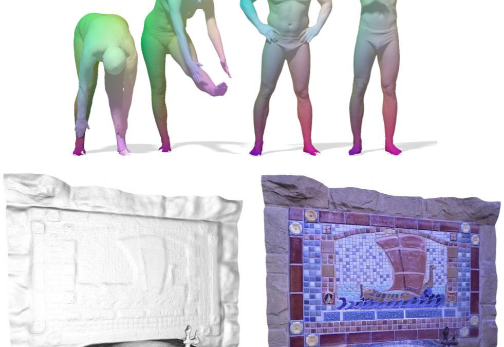 Ricostruzione della forma di oggetti in 3D ed Applicazioni