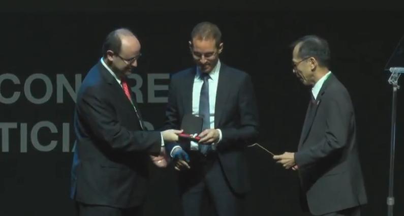 Alessio Figalli è stato premiato con la medaglia Fields 2018