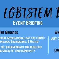 5 luglio, giornata internazionale LGBTQ+ per le materie STEM!