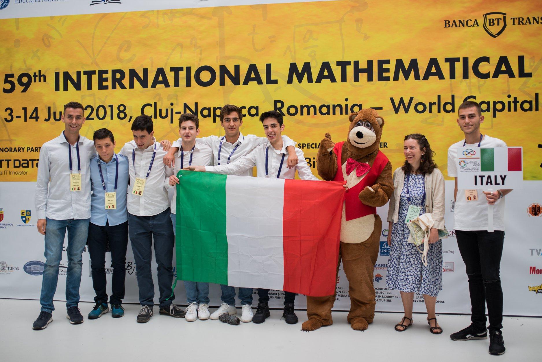 Olimpiadi Internazionali di Matematica 2018
