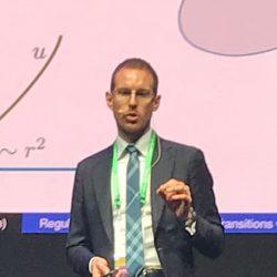 Conferenza di Alessio Figalli alla Sapienza a Roma, 3 settembre 2018