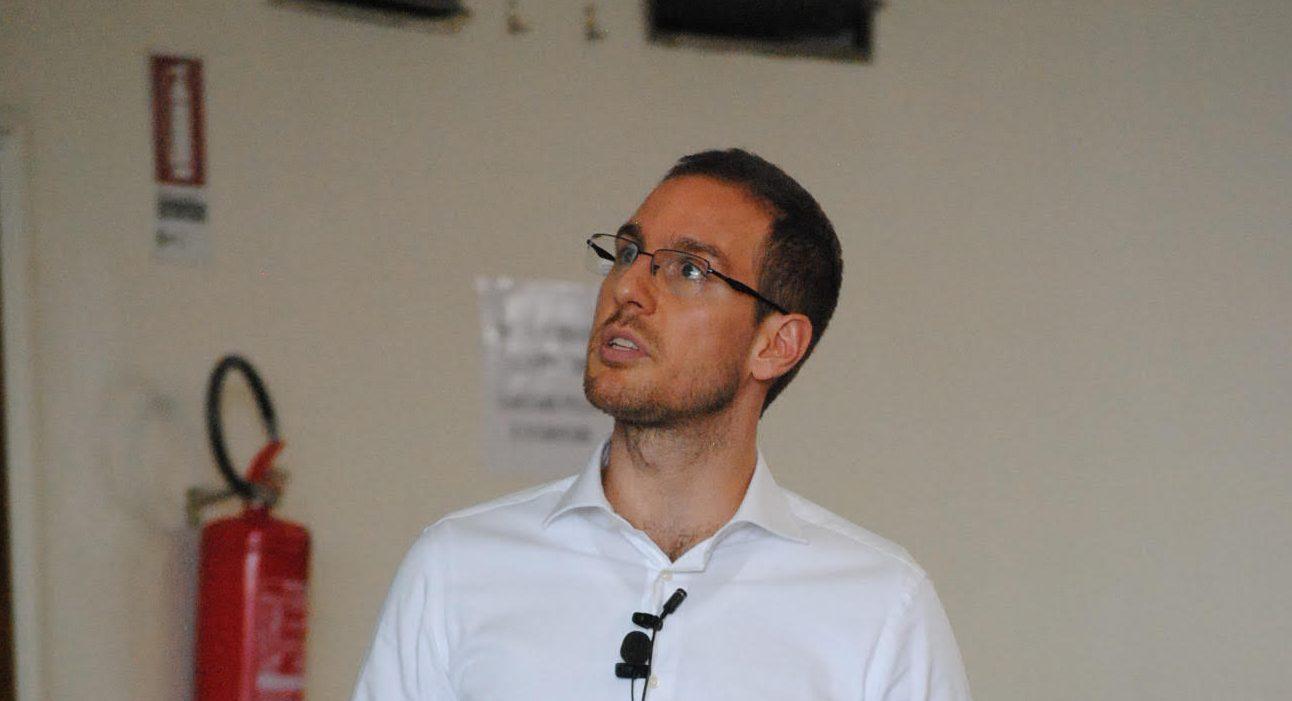 Alessio Figalli al Festival delle Scienze di Roma il 9 aprile