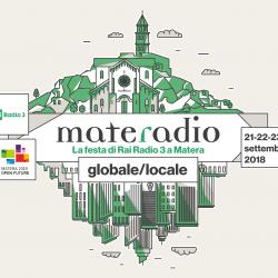 Sandra Lucente a Materadio con Radio3 Scienza, Sabato 22 settembre, ore 16e10