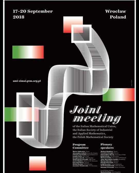 Qualche notizia dal primo Joint Meeting UMI SIMAI PTM  a Breslavia (Wrocław)