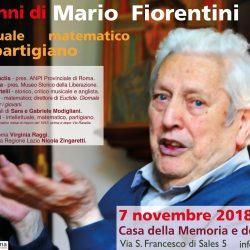 Mario Fiorentini compie 100 anni - una storia tra cultura, politica, resistenza e matematica