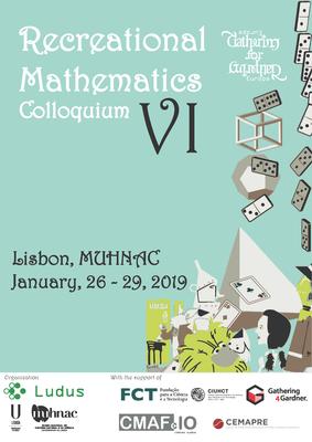 La matematica ricreativa a Lisbona, gennaio 2019