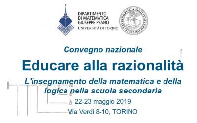 """Convegno: """"Educare alla razionalità. L'insegnamento della matematica e della logica nella scuola secondaria"""""""