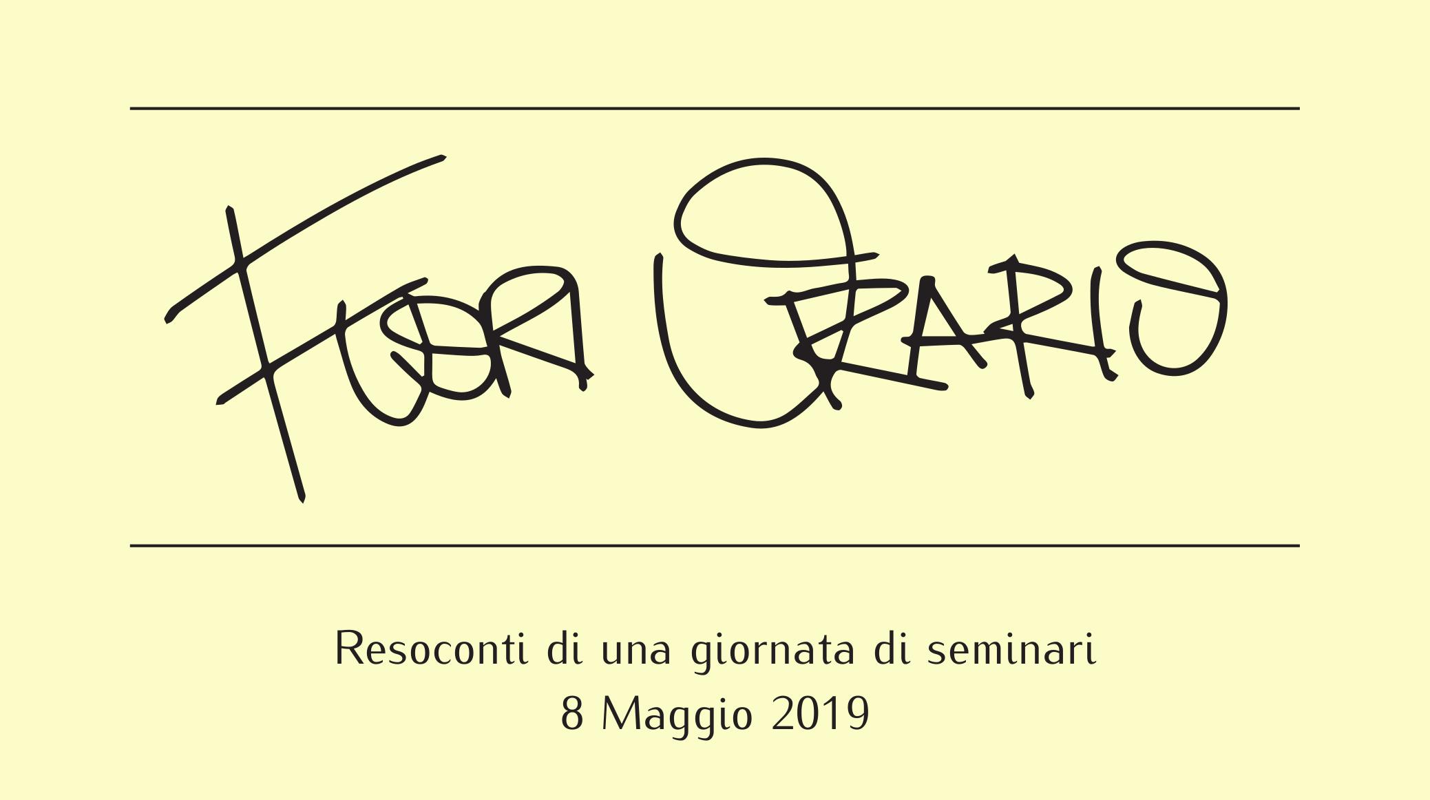Fuori Orario al Dipartimento di Matematica di Milano