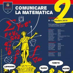 Comunicare la Matematica, 9-11 Ottobre 2019, Camerino