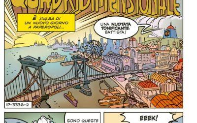 Alessio Figalli, Zio Paperone e il cavatappi quadridimensionale (dal 30 ottobre in Edicola!)