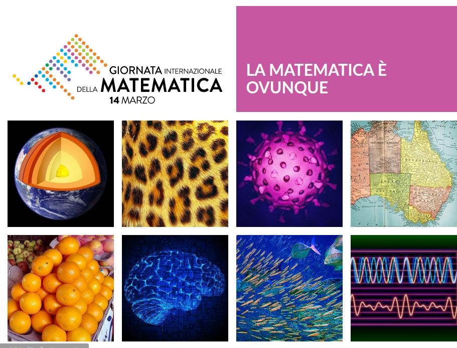 La Matematica è ovunque: sito dedicato alla giornata internazionale della matematica 2020