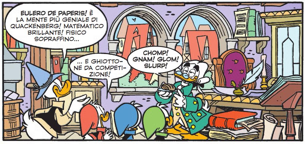 Un matematico prestato alla Disney: Episodio 5 – I ponti di Quackenberg – Eulero