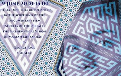 "Evento online May 12 a Tor Vergata: ""Varieties of Varieties after Maryam Mirzakhani"" seminario di Lucia Caporaso – 9 giugno, ore 15"