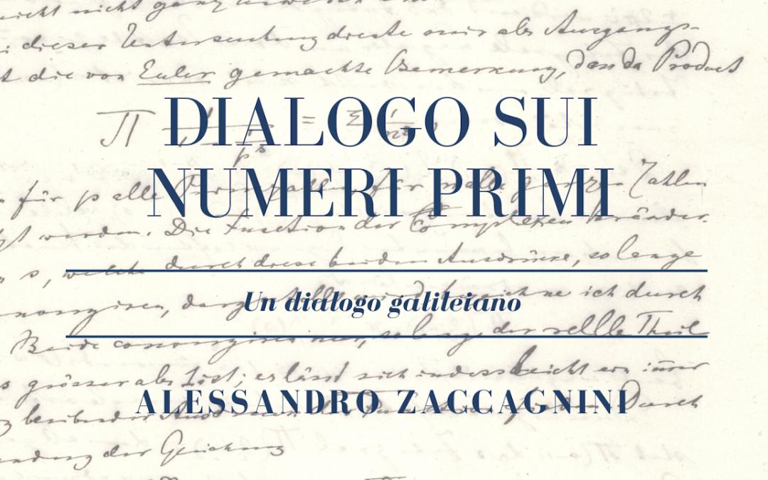 I librini di MaddMaths!: Alessandro Zaccagnini – Dialogo sui numeri primi (versione ebook)