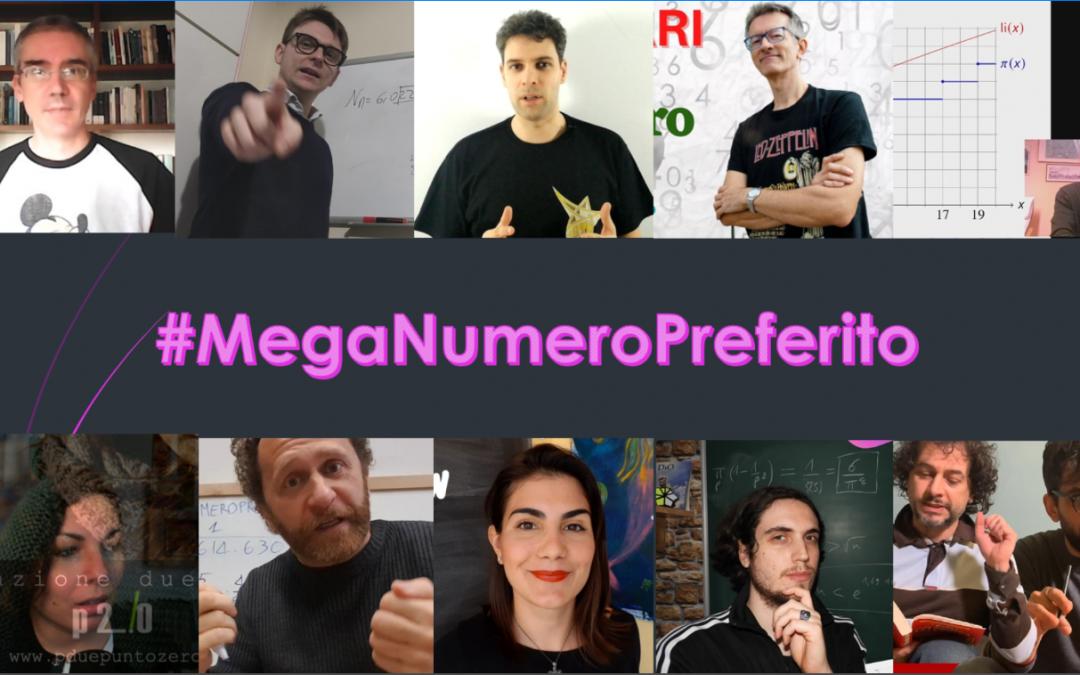 #MegaNumeroPreferito: raccontaci qual è il tuo numero preferito maggiore di 1 milione