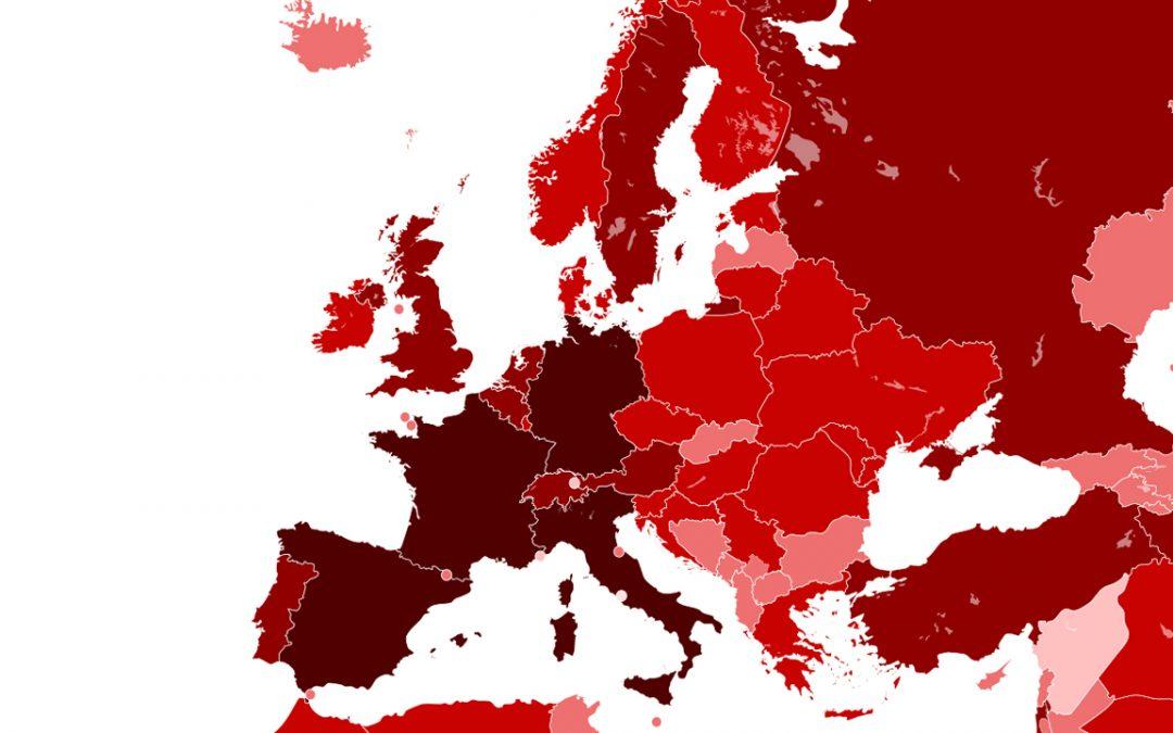 Covid. In Europa, la seconda ondata meno mortale della prima