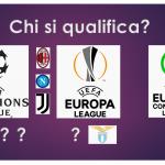 Champions League, Europa League, Europa Conference League, condizioni necessarie e condizioni sufficienti