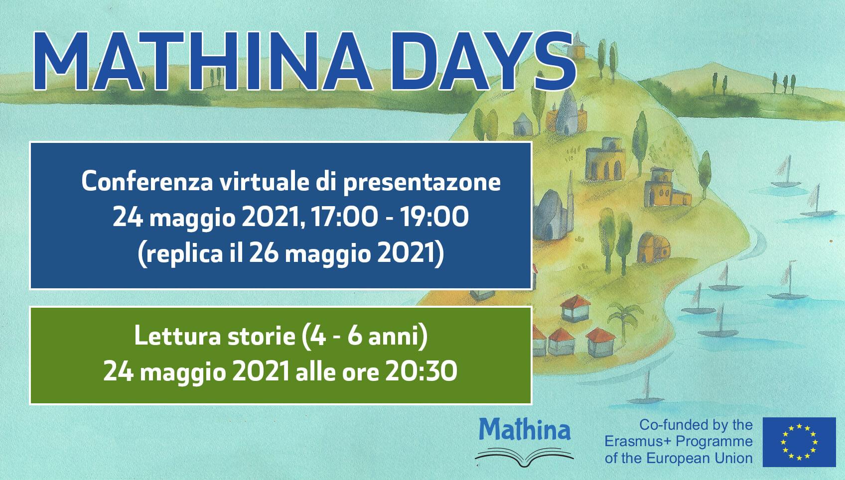 Mathina Days: raccontare la matematica a tutti (24 e 26 maggio)