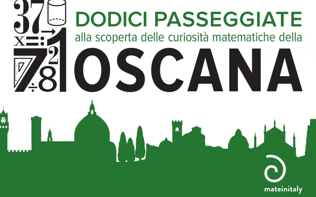 """""""Dodici passeggiate alla scoperta delle curiosità matematiche della Toscana"""", un libro di Silvia Benvenuti in edicola con Prisma di giugno"""